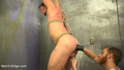 Photo number 5 from All-American Stud Pierce Paris Gets Edged and Fisted by Border Patrol shot for Men On Edge on Kink.com. Featuring Pierce Paris in hardcore BDSM & Fetish porn.