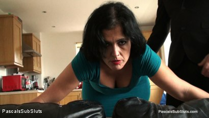 Photo number 2 from Montse Swinger: Slave Mum's Brutal Sodomy shot for Pascals Sub Sluts on Kink.com. Featuring Montse Swinger, Pascal White and Andy Baxter in hardcore BDSM & Fetish porn.