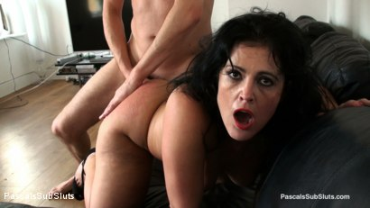 Photo number 9 from Montse Swinger: Slave Mum's Brutal Sodomy shot for Pascals Sub Sluts on Kink.com. Featuring Montse Swinger, Pascal White and Andy Baxter in hardcore BDSM & Fetish porn.
