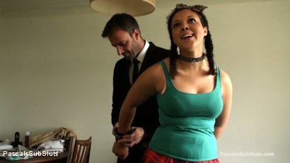 Photo number 1 from Kloe White: PSS Broke My Porno Cherry shot for Pascals Sub Sluts on Kink.com. Featuring Kloe White, Pascal White and Andy Baxter in hardcore BDSM & Fetish porn.