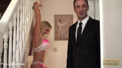 Photo number 2 from Victoria Summers: At Your Mercy, All Tied Up shot for pascalssubsluts on Kink.com. Featuring Victoria Summers, Pascal White and Andy Baxter in hardcore BDSM & Fetish porn.