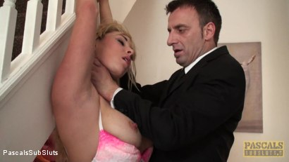 Photo number 1 from Victoria Summers: At Your Mercy, All Tied Up shot for Pascals Sub Sluts on Kink.com. Featuring Victoria Summers, Pascal White and Andy Baxter in hardcore BDSM & Fetish porn.