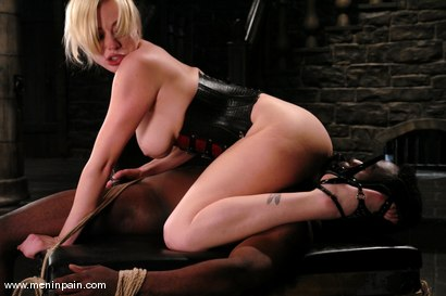 Photo number 12 from Interracial Domination shot for Men In Pain on Kink.com. Featuring Adrianna Nicole and Jeff Sinclaire in hardcore BDSM & Fetish porn.