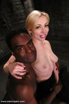 Photo number 15 from Interracial Domination shot for Men In Pain on Kink.com. Featuring Adrianna Nicole and Jeff Sinclaire in hardcore BDSM & Fetish porn.