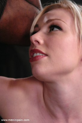Photo number 2 from Interracial Domination shot for Men In Pain on Kink.com. Featuring Adrianna Nicole and Jeff Sinclaire in hardcore BDSM & Fetish porn.