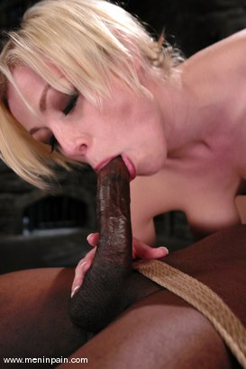 Photo number 10 from Interracial Domination shot for Men In Pain on Kink.com. Featuring Adrianna Nicole and Jeff Sinclaire in hardcore BDSM & Fetish porn.