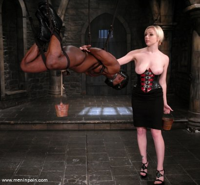 Photo number 3 from Interracial Domination shot for Men In Pain on Kink.com. Featuring Adrianna Nicole and Jeff Sinclaire in hardcore BDSM & Fetish porn.