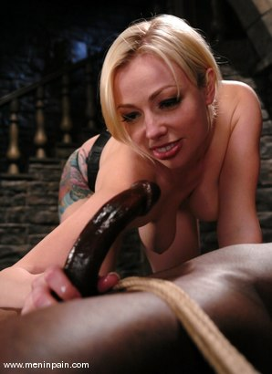 Photo number 14 from Interracial Domination shot for Men In Pain on Kink.com. Featuring Adrianna Nicole and Jeff Sinclaire in hardcore BDSM & Fetish porn.