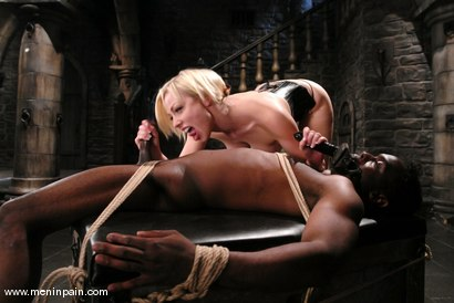 Photo number 13 from Interracial Domination shot for Men In Pain on Kink.com. Featuring Adrianna Nicole and Jeff Sinclaire in hardcore BDSM & Fetish porn.