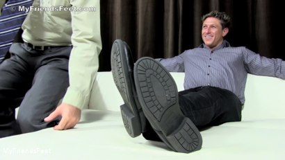 Photo number 2 from Bryce Evans Foot Worshiped shot for My Friends Feet on Kink.com. Featuring Cameron Kincade and Bryce Evans in hardcore BDSM & Fetish porn.