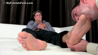 Photo number 11 from Bryce Evans Foot Worshiped shot for My Friends Feet on Kink.com. Featuring Cameron Kincade and Bryce Evans in hardcore BDSM & Fetish porn.