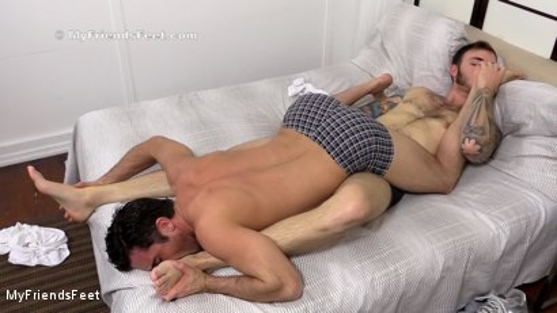 Christian Wilde & Lance Hart Have Foot Sex