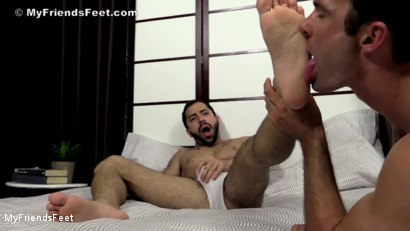 Photo number 13 from Nick Cross' Socks & Feet Worshiped shot for My Friends Feet on Kink.com. Featuring Cameron Kincade and Nick Cross in hardcore BDSM & Fetish porn.