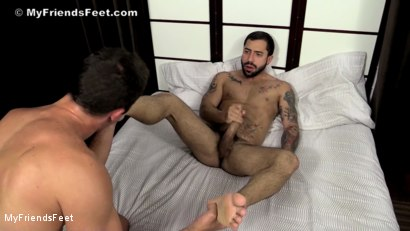 Photo number 17 from Nick Cross' Socks & Feet Worshiped shot for My Friends Feet on Kink.com. Featuring Cameron Kincade and Nick Cross in hardcore BDSM & Fetish porn.