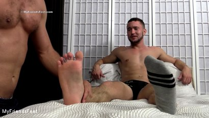 Photo number 9 from Colt Rivers Gets His Feet Worshiped shot for My Friends Feet on Kink.com. Featuring Cameron Kincade and Colt Rivers in hardcore BDSM & Fetish porn.