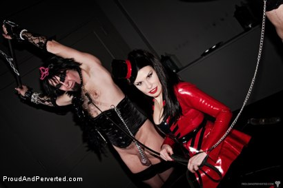 Photo number 13 from The Transcendence of Miss Velour shot for Proud and Perverted on Kink.com. Featuring Miss Velour, Slave and Slave Thor in hardcore BDSM & Fetish porn.