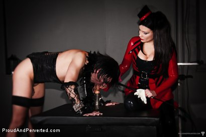 Photo number 17 from The Transcendence of Miss Velour shot for Proud and Perverted on Kink.com. Featuring Miss Velour, Slave and Slave Thor in hardcore BDSM & Fetish porn.