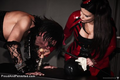 Photo number 18 from The Transcendence of Miss Velour shot for Proud and Perverted on Kink.com. Featuring Miss Velour, Slave and Slave Thor in hardcore BDSM & Fetish porn.