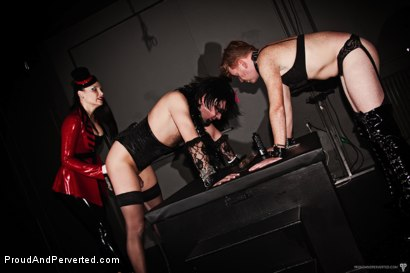 Photo number 20 from The Transcendence of Miss Velour shot for Proud and Perverted on Kink.com. Featuring Miss Velour, Slave and Slave Thor in hardcore BDSM & Fetish porn.