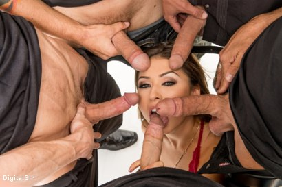 Photo number 8 from A Girl's Dream Of A Faceful Of Cream shot for Digital Sin on Kink.com. Featuring Melissa Moore, Chad Alva, Brad Hart, Ryan McLane, Filthy Rich and Eric John in hardcore BDSM & Fetish porn.