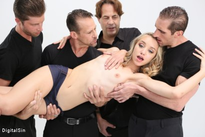 Photo number 4 from Meat Meeting In A Hot Mouth shot for Digital Sin on Kink.com. Featuring Aurora Belle, Scott Lyons, Filthy Rich, Dylan Snow, Tommy Gunn, Eric John and Leo Christiensen in hardcore BDSM & Fetish porn.