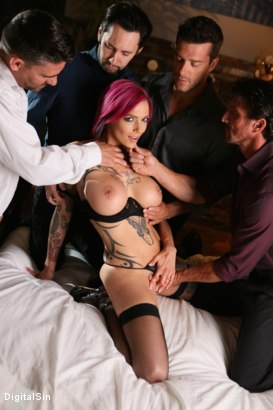 Photo number 5 from Anna Bell's Pussy Gets Fisted And Double Pumped shot for Digital Sin on Kink.com. Featuring Anna Bell Peaks , Ramon Nomar, Tommy Pistol, Tommy Gunn and Toni Ribas in hardcore BDSM & Fetish porn.