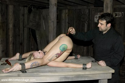 Photo number 4 from Device Bondage Live in HD shot for Device Bondage on Kink.com. Featuring Sarah Jane Ceylon and Alexa Von Tess in hardcore BDSM & Fetish porn.