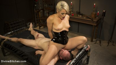 Photo number 11 from The Femdom Lifestyle: Real Couple Plays Hard shot for Divine Bitches on Kink.com. Featuring D. Arclyte and Helena Locke in hardcore BDSM & Fetish porn.