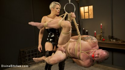 Photo number 12 from The Femdom Lifestyle: Real Couple Plays Hard shot for Divine Bitches on Kink.com. Featuring D. Arclyte and Helena Locke in hardcore BDSM & Fetish porn.