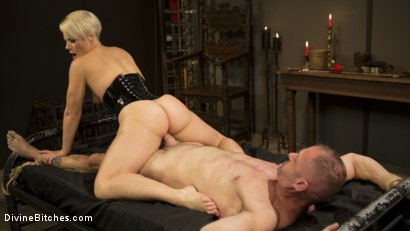 Photo number 13 from The Femdom Lifestyle: Real Couple Plays Hard shot for Divine Bitches on Kink.com. Featuring D. Arclyte and Helena Locke in hardcore BDSM & Fetish porn.