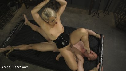 Photo number 4 from The Femdom Lifestyle: Real Couple Plays Hard shot for Divine Bitches on Kink.com. Featuring D. Arclyte and Helena Locke in hardcore BDSM & Fetish porn.