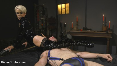 Photo number 8 from The Femdom Lifestyle: Real Couple Plays Hard shot for Divine Bitches on Kink.com. Featuring D. Arclyte and Helena Locke in hardcore BDSM & Fetish porn.