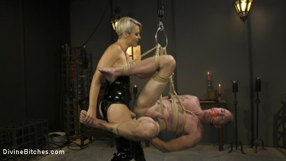 Photo number 9 from The Femdom Lifestyle: Real Couple Plays Hard shot for Divine Bitches on Kink.com. Featuring D. Arclyte and Helena Locke in hardcore BDSM & Fetish porn.