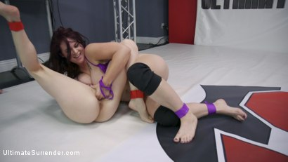 Photo number 6 from Rookie Cup Tournament: Johnny Starlight vs Alexa Nova shot for Ultimate Surrender on Kink.com. Featuring Johnny Starlight  and Alexa Nova in hardcore BDSM & Fetish porn.