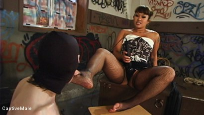 Photo number 4 from DragonLily Delivers Strict Discipline to Failing Student shot for Captive Male on Kink.com. Featuring TJ West and DragonLily in hardcore BDSM & Fetish porn.