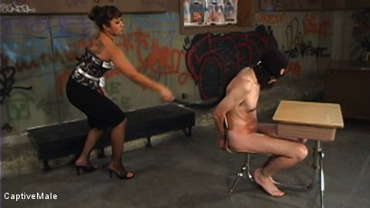 Photo number 2 from DragonLily Delivers Strict Discipline to Failing Student shot for Captive Male on Kink.com. Featuring TJ West and DragonLily in hardcore BDSM & Fetish porn.