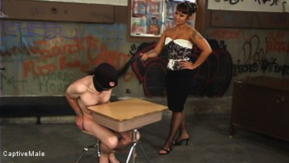 Photo number 3 from DragonLily Delivers Strict Discipline to Failing Student shot for Captive Male on Kink.com. Featuring TJ West and DragonLily in hardcore BDSM & Fetish porn.