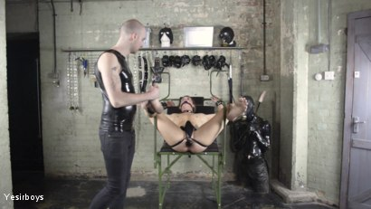 Photo number 1 from Thank You Sir shot for Yesirboys on Kink.com. Featuring Sam Syron and Casper Ellis in hardcore BDSM & Fetish porn.