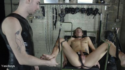 Photo number 19 from Thank You Sir shot for Yesirboys on Kink.com. Featuring Sam Syron and Casper Ellis in hardcore BDSM & Fetish porn.