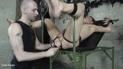Photo number 20 from Thank You Sir shot for Yesirboys on Kink.com. Featuring Sam Syron and Casper Ellis in hardcore BDSM & Fetish porn.