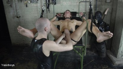 Photo number 25 from Thank You Sir shot for Yesirboys on Kink.com. Featuring Sam Syron and Casper Ellis in hardcore BDSM & Fetish porn.
