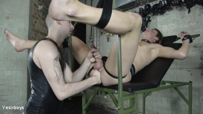 Photo number 26 from Thank You Sir shot for Yesirboys on Kink.com. Featuring Sam Syron and Casper Ellis in hardcore BDSM & Fetish porn.