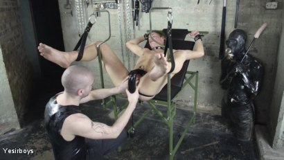 Photo number 5 from Thank You Sir shot for Yesirboys on Kink.com. Featuring Sam Syron and Casper Ellis in hardcore BDSM & Fetish porn.