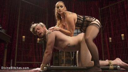 Photo number 10 from Gorgeous Sadist Bella Rossi Torments An Unsuspecting Mike Panic shot for Divine Bitches on Kink.com. Featuring Bella Rossi and Mike Panic in hardcore BDSM & Fetish porn.