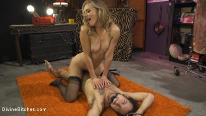 Photo number 12 from Mona Wales Trains Her New Beta Bitch Boytoy shot for Divine Bitches on Kink.com. Featuring Mona Wales and DJ in hardcore BDSM & Fetish porn.