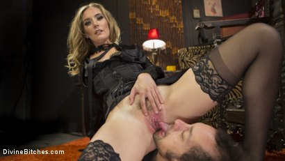 Photo number 16 from Mona Wales Trains Her New Beta Bitch Boytoy shot for Divine Bitches on Kink.com. Featuring Mona Wales and DJ in hardcore BDSM & Fetish porn.