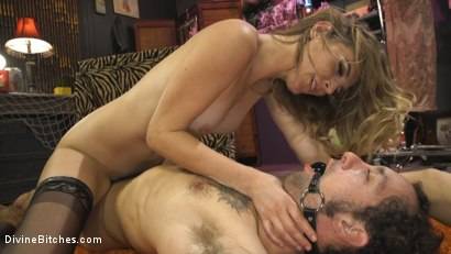 Photo number 17 from Mona Wales Trains Her New Beta Bitch Boytoy shot for Divine Bitches on Kink.com. Featuring Mona Wales and DJ in hardcore BDSM & Fetish porn.