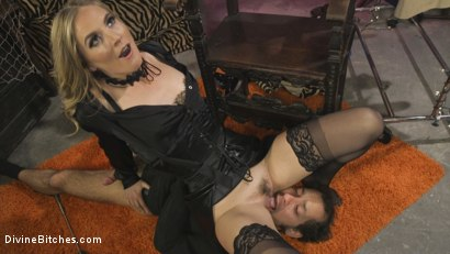 Photo number 19 from Mona Wales Trains Her New Beta Bitch Boytoy shot for Divine Bitches on Kink.com. Featuring Mona Wales and DJ in hardcore BDSM & Fetish porn.