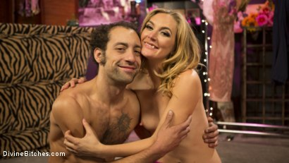 Photo number 22 from Mona Wales Trains Her New Beta Bitch Boytoy shot for Divine Bitches on Kink.com. Featuring Mona Wales and DJ in hardcore BDSM & Fetish porn.