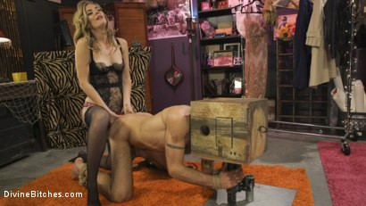Photo number 8 from Mona Wales Trains Her New Beta Bitch Boytoy shot for Divine Bitches on Kink.com. Featuring Mona Wales and DJ in hardcore BDSM & Fetish porn.